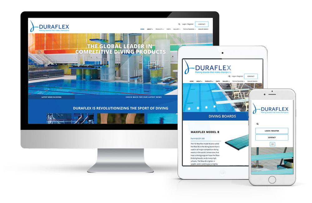 Web Design Portfolio   Duraflex International